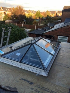 New skylight window fititng - J Antrobus and son