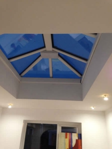 New skylight window fitting - J Antrobus and son