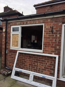 Extension window replacement - J Antrobus and son